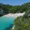 View Macarelleta Beach In Minorca