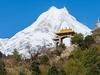 View Manaslu Conservation Area Landscape - Nepal Himalayas