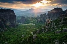 View Meteora Landscape - Trikala