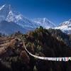 View Mount Manaslu - Nepal Himalayas