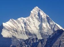 View Mount Nanda Devi UT In Indian Himalayas
