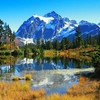 View Mt. Shuksan In Picture Lake WA