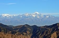 View Nanda Devi From Dhanaulti UT