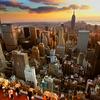 View New York City From Rockefeller Center