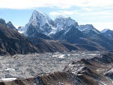 View Ngozumba Glacier In Khumbu Himalaya - Nepal