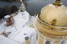 View Nilov Monastery From Bell Tower - Stolobny Island