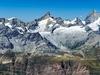 View Ober Gabelhorn - Zinalrothorn - Weisshorn