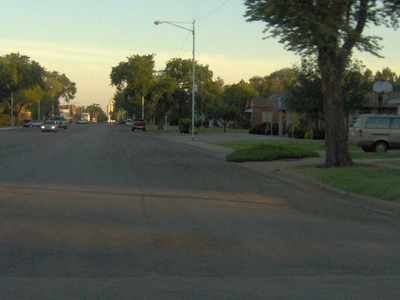 View Of A Small Intersection In Ashland