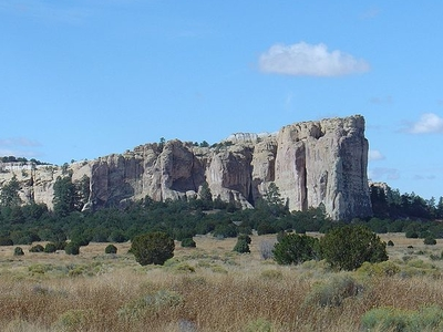 View Of El Morro National Monument