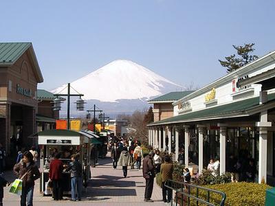 View Of Gotenba Premium Outlet