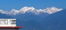 View Of Kanchenjunga Mountains From Pelling