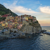 View Of Manarola Village