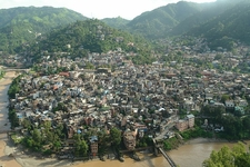 View Of Mandi City