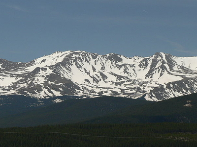 View Of Mt. Massive