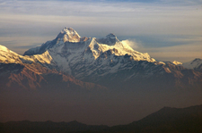 View Of Nanda Devi Massif And Nanda Devi East