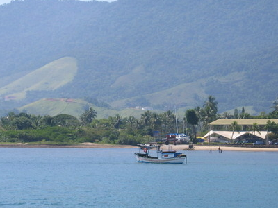 View Of Pereque Beach From Ferry Boat