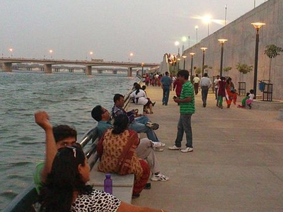 View Of Sabarmati Riverfront