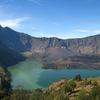 View Of Segara Anak From The Crater Rim