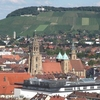 View Of The Heilbronn Centre Of Town Toward The Wartberg