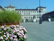 View Of The Royal Palace From Piazza Castello