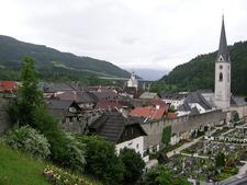 View Of The Town Gmünd, Austria