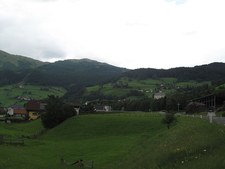 View Of The Town Rennweg, Carinthia, Austria