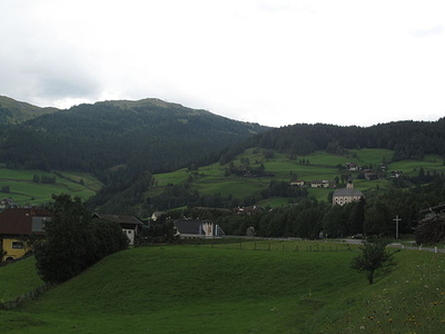 View Of The Town Rennweg, Carinthia, Austria