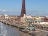 View Of Blackpool Tower Amp The Beach