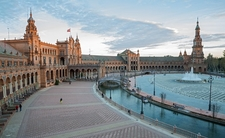 View Plaza De Espana In Seville - Spain Andalusia