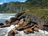 View Punakaiki Coastline NZ West Coast