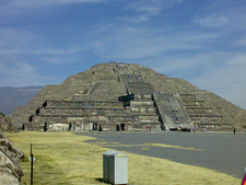 View Pyramid Of The Sun