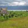 View Samosir Island Landscape