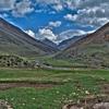 View Sassymir Valley In Kyrgyzstan