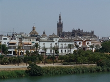 View Seville Skyline - Andalusia Spain