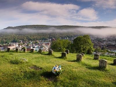 View Shamokin Cemetery - Block 13 - Pennsylvania