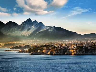 View Sicily Coastline - Seascape