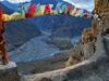 View Spiti Valley From Dhankar Gompa
