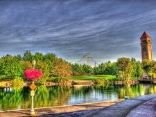 View Spokane Riverfront Park & Clock Tower WA