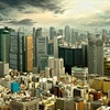 View Tokyo City Skyscrapers