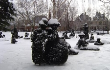 View Topiary Park In Snow