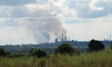 View Towards The City Of Kitwe Zambia