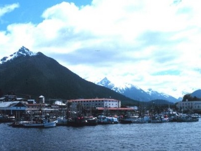 View Toward Sitka From The Pacific Ocean