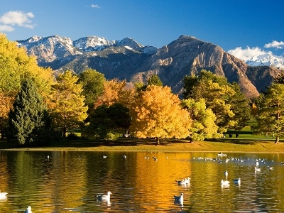 View Wasatch Mountains UT