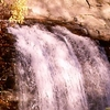 View Waterfall In Pisgah National Forest NC