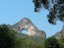 View Yangshuo Moon Hill