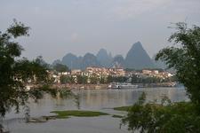 View Yangshuo Town Across River
