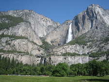 View Yosemite Falls