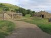 Partially Rebuilt Mandan Village