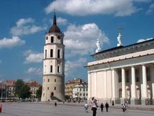 Cathedral Square ,Vilnius