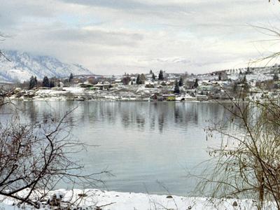 Village Of  Manson  Washington From  Wapato  Point